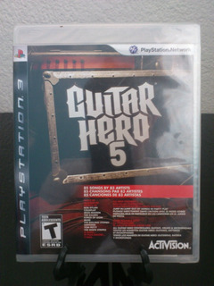 Guitar Hero 5 Ps3 Nuevo Citygame