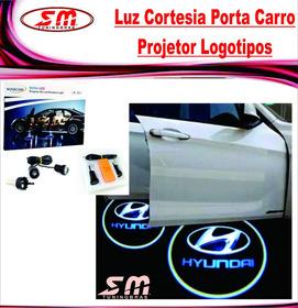 Luz De Cortesia Projetor Logomarca Hyundai Azera Elantra Hr