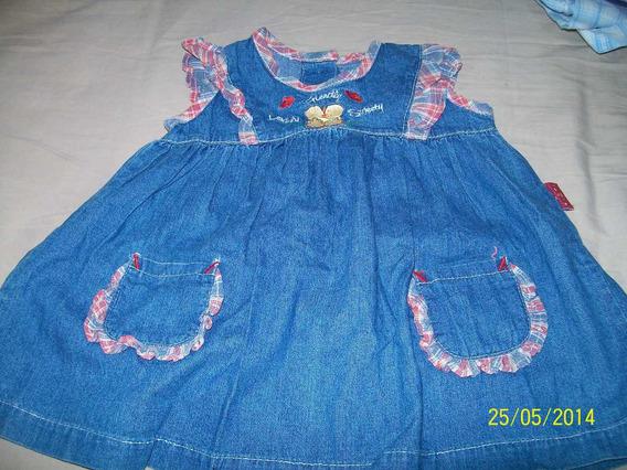 Hermoso Vestido De Jean
