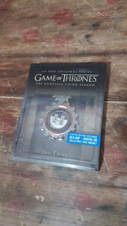 Blu Ray Game Of Thrones Temporada 3 Steelbook Con Iman