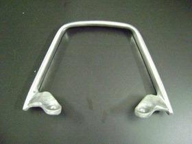 Alça Trazeira Cb 500 Aluminio Cinza