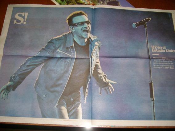 - Poster - U2 - Cancha Platense - 2011 - Si - Clarin -