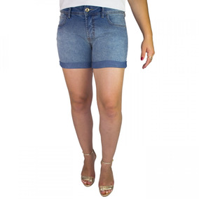 Bermuda Jeans Juvenil Feminina Colcci Fun Indigo