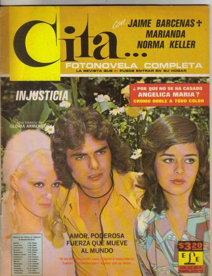 Jaime Bárcenas Y Marianda (fotonovela Completa Cita Núm 423)