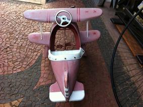 Avião Red Baron Anos 70 - Pedalcar Consultar O Frete