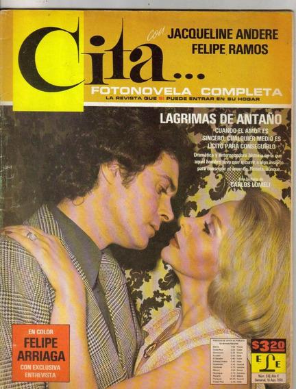 Jacqueline Andere Y Felípe (fotonovela Completa Cita Núm475)
