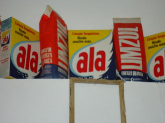 Cajas De Publicidad Vidrieras Jabon Antiguas Decoracion