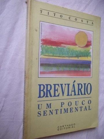Livro - Tito Costa - Breviário - Literatura Estrangeira