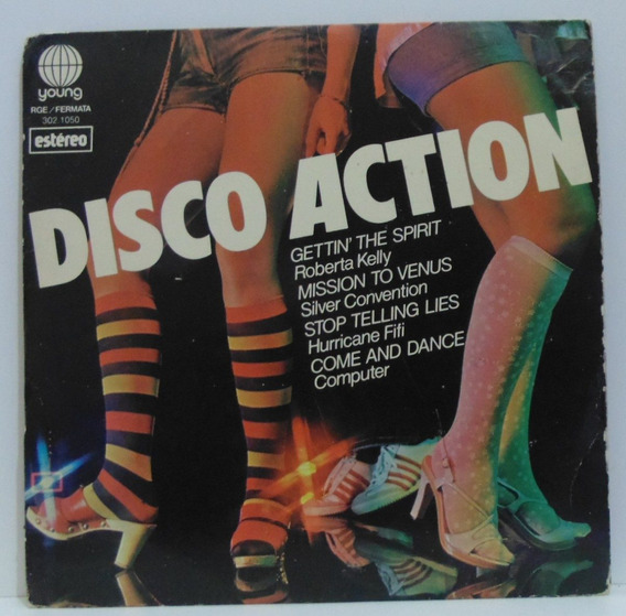 Compacto Vinil Disco Action - 1978 - Young