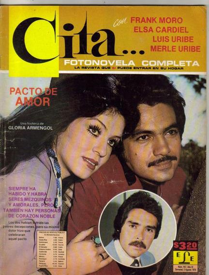 Frank Moro Y Elsa Cardiel (fotonovela Completa Cita Núm475)