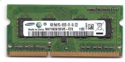 Memoria Ddr3 Samsung 1gb 1rx8 Pc3-8500s-07-10-zzz