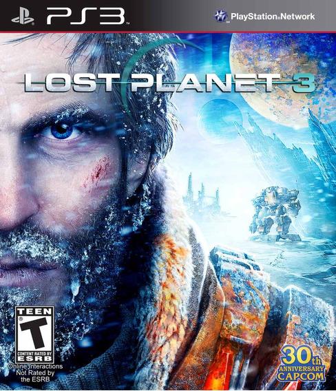 Lost Planet 3 Ps3 Original Lacrado Mídia Física Em Português