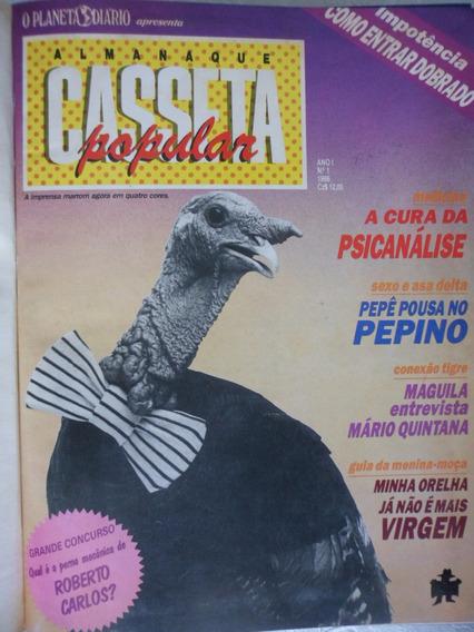 Coleção A Casseta Popular - 16 Exemplares - Anos 1986/87/88