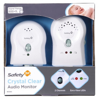 Monitor Para Bebe 2 Canales De Audio Crystal Clear Safety