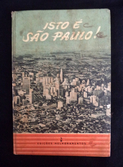 Livro Isto É São Paulo Livreto Publicação Antiga*