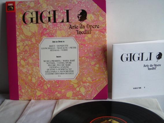 Gigli Arie Da Opere - Vol 5 - 3 Vinilos Sin Uso. Italiano