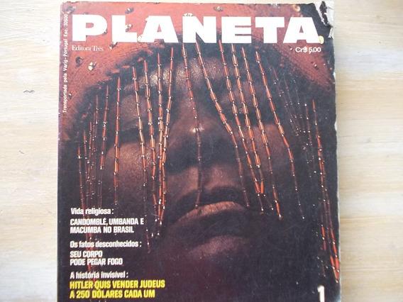 Revista Planeta Nº 1 - 1972 Vida Religiosa - Extraterrestres