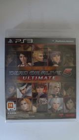 Dead Or Alive 5 Ultimate Ps3 Novo E Lacrado