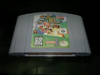 Super Mario 64 Para Nintendo 64,excelente Titulo.