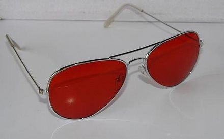 Óculos De Sol Aviador Cromado C/ Lentes Rave