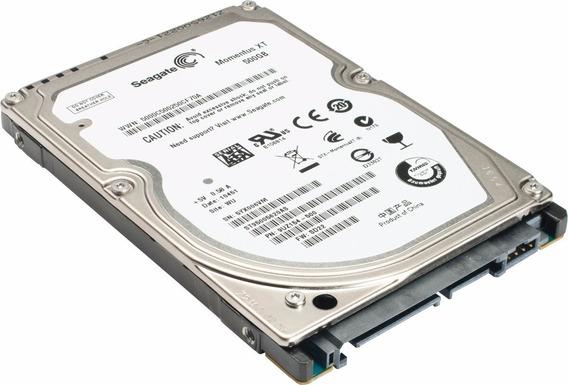 Hd Notebook 500 Gb Seagate - Semi-novo Em Perfeito Estado