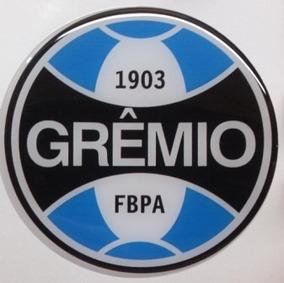Adesivo Resinado Grêmio Moto Carro Capacete Alto Relevo