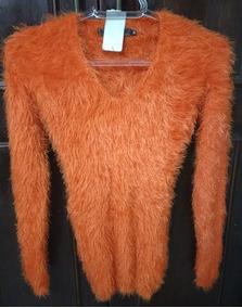 Blusa Feminina Frio Sweater Pelo Felpudo Fuzzy Inverno 2018