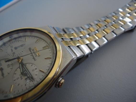 Seiko Cronometro Antigo Decada 80- Raridade