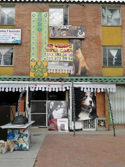 Venta De Casa Comercial Con Local Via Principal