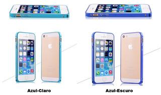 Capa De Alumínio Luxo Ultra Fino 0.7 Mm Para Iphones 5 E 5s