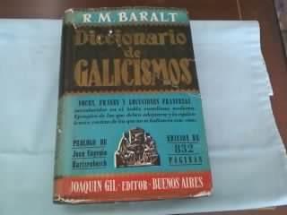 Diccionario De Galicismos(baralt) /muy Buen Estado/ Envios/
