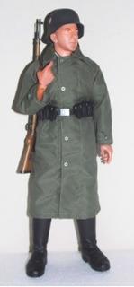 *figura De Ação De Coleção Particular*german Infantry 1/6*