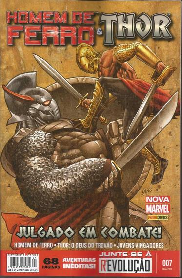 Homem De Ferro & Thor 7 - Panini 07 - Bonellihq Cx73 G19