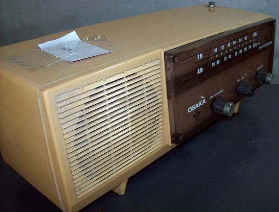 Radio Antigo Osaka Duas Faixas Am E Fm 8001 (rr),funciona