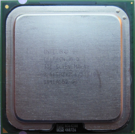 Processador Intel Celeron D 331 Sl98v