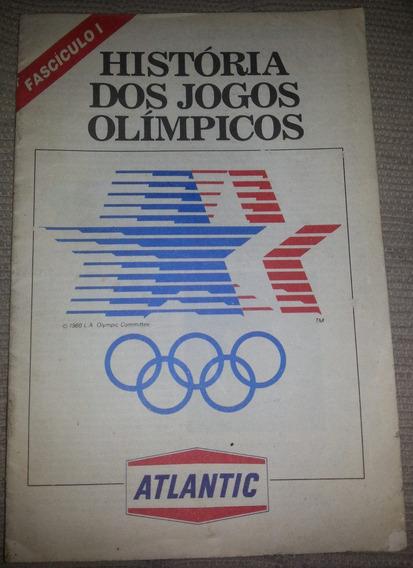 História Do Jogos Olímpicos Fascículo 1 - Posto Atlantic 80
