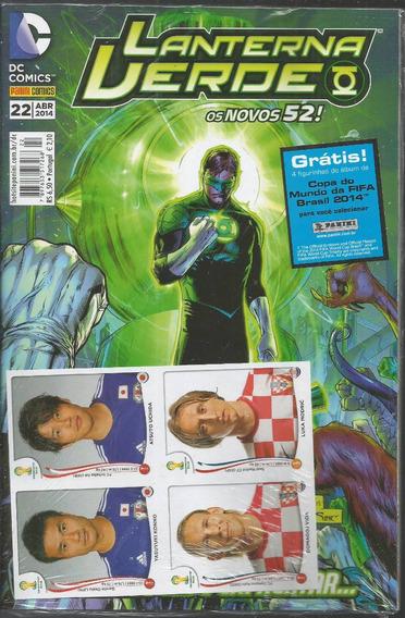 Lanterna Verde 22 Novos 52 - Panini - Bonellihq Cx73 G19