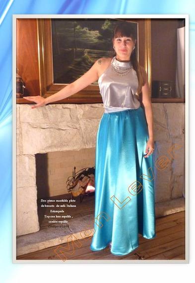 Vestido De Shantung De Seda Una Sofisticacion