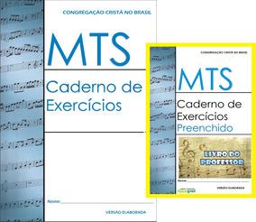 Mts Caderno Exercícios Ccb Kit C/02un (1 Livro Prof) 1 Teste