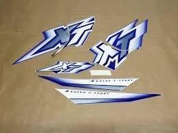 Kit De Adesivos Yamaha Xt 600 - 2000 A 02 Azul
