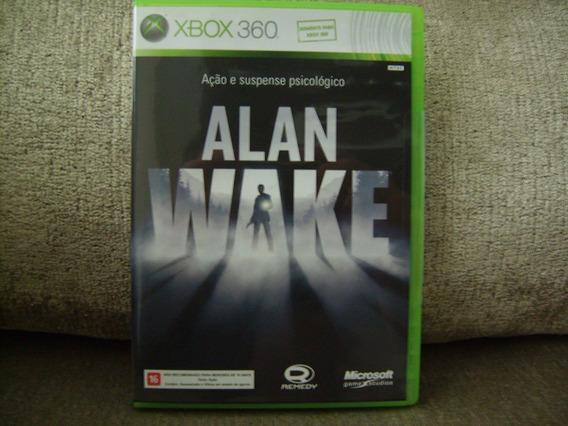 Game Alan Wake Do Xbox 360 - Completo