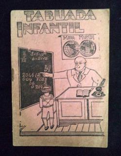 Tabuada Infantil Publicação Antiga