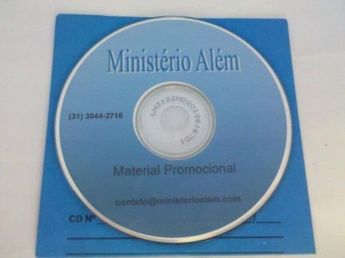 Cd Ministério Além. Material Promocional.