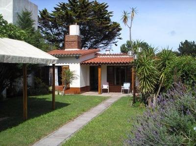 Alquiler Temporario Casa Lucila Del Mar A 50 M. De Bosque