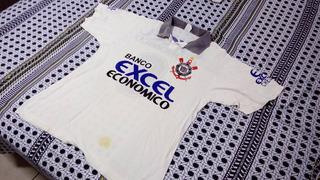Camisa Corinthians Excel Economico Branca