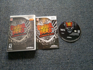 Guitar Hero Warriors Of Rock Completo Para Nintendo Wii,