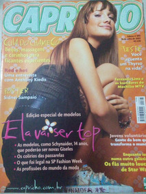 Revista Capricho N. 893 Red Hot Anthony Kiedis