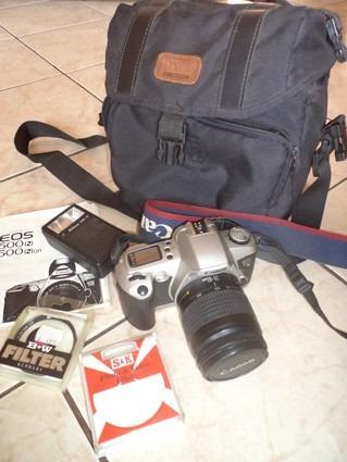 Câmera Canon Reflex Eos 500 N