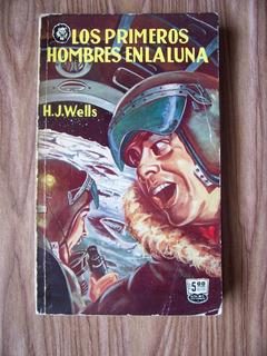 Los Primeros Hombres En La Luna-1958-hj Wells-populibros-maa
