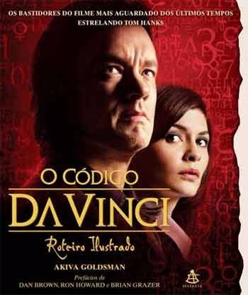 O Código Da Vinci - Roteiro Ilustrado - Raridade